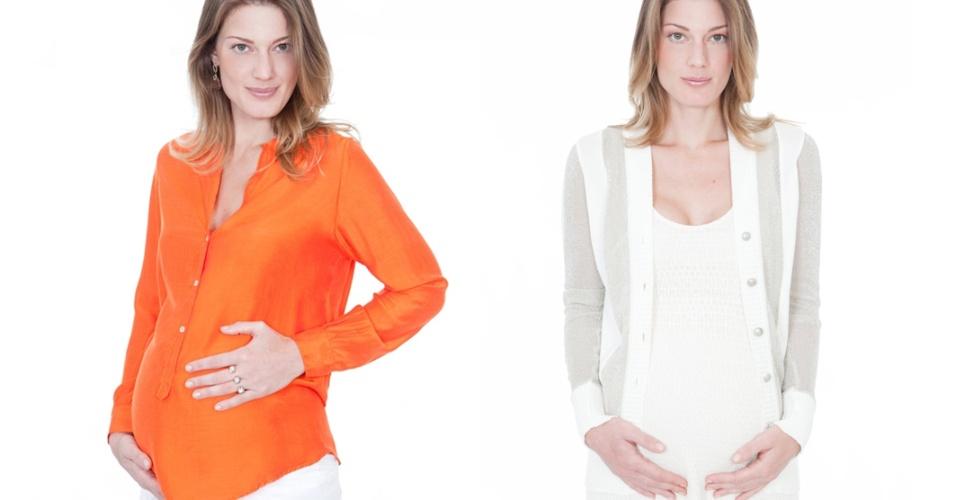 Roupas da grife para grávidas Bonheur