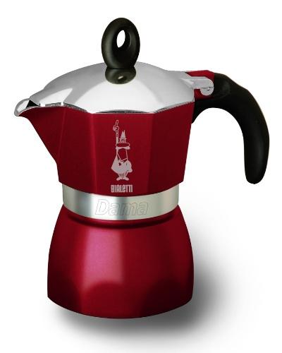 A cafeteira Dama Glamour, da italiana Bialetti, tem capacidade para três xícaras e está disponível nas cores vermelha e marrom. Por R$ 162,90 na Imeltron