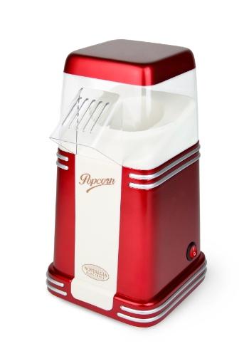 À venda na Oren (www.oren.com.br), a mini pipoqueira Nostalgia tem capacidade para 100 gramas de milho e funciona com 110v. O eletrodoméstico custa R$ 188