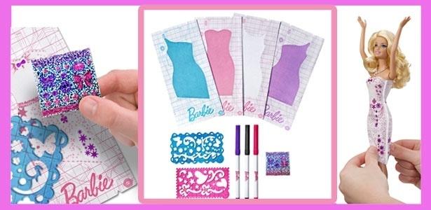 Nova Barbie Design de Vestidos permite que a crian�a brinque de criar look exclusivo