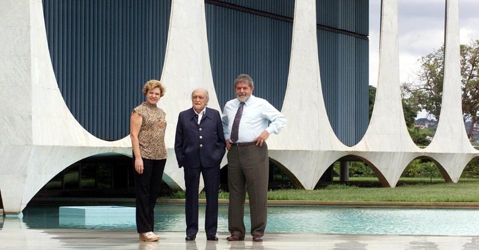 4.mai.2012 - Em 2003, o arquiteto foi convidado pelo então presidente Luiz Inácio Lula da Silva para realizar uma reforma no Palácio da Alvorada