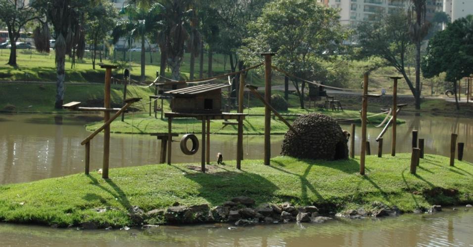 5.mai.2012 - Zoológico de Goiânia é reinaugurado após três anos em reforma