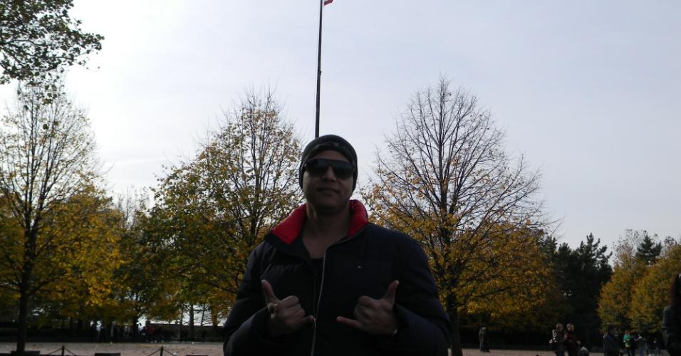 Thiago Novaes estudou inglês por três semanas na escola EC Boston