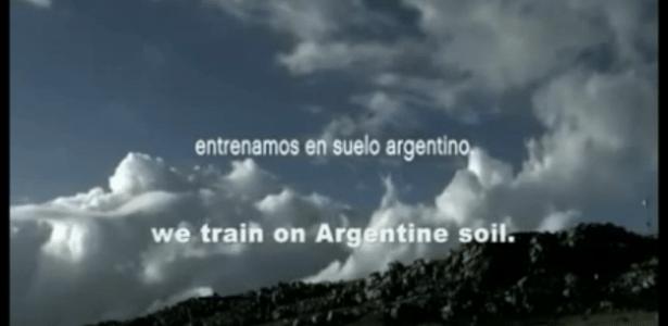 Vídeo argentino provoca Inglaterra ao citar Malvinas como território local