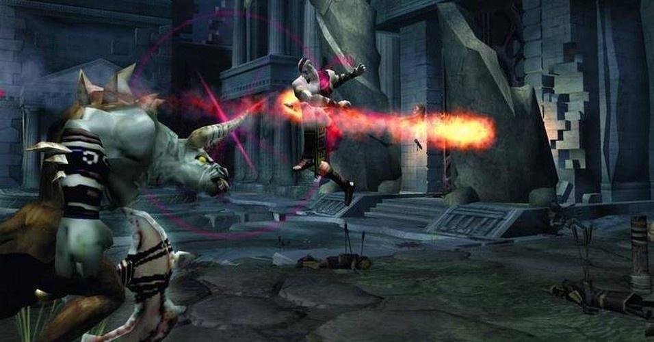 Depois de abater a hidra, a deusa Atena pede um último trabalho para Kratos: derrotar Ares. Para isso, deve seguir para a cidade que leva o nome da divindade da sabedoria e estratégia
