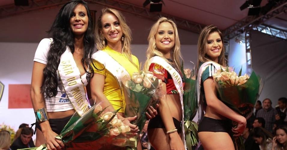 Lorena Bueri, Gabriela Zanata, Suelen Del Vecchio e Priscila Escobar