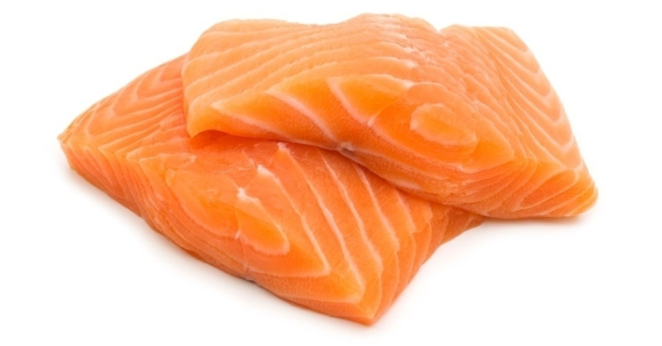 Salmão, salmão cru