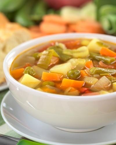 Sopa, sopa de legumes, sopa vegetariana