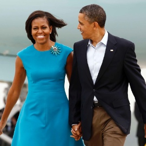 Barack Obama e primeira dama, Michelle Obama