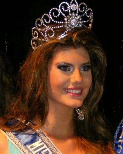 6.mai.2012 - A nova Miss Mundo Mato Grosso é Ângela Trampush, 17 anos, natural de Primavera do Leste. Ângela representará o Mato Grosso no Miss Mundo Brasil 2013