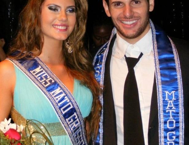 6.mai.2012 - Além da Miss, o evento escolheu o Mister Mundo Mato Grosso 2013. O vencedor foi Tony Brito, 19 anos, Mister Rondonópolis