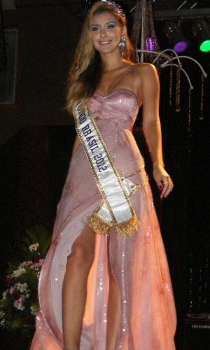 6.mai.2012 - Mariana Notarângelo, a Miss Mundo Brasil 2012