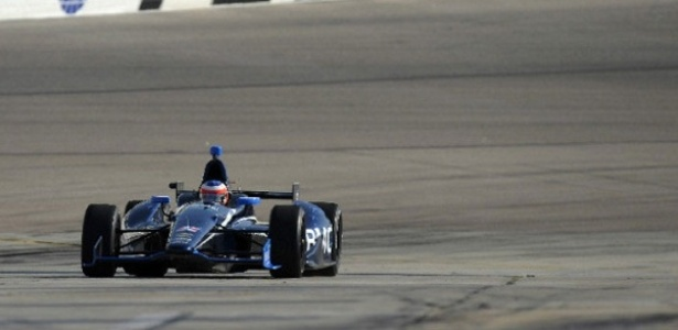 Barrichello participa de seu primeiro teste em um circuito oval da Indy, com a KV