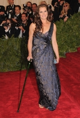 Brooke Shields no baile de gala do MET 2012 (07/05/20120