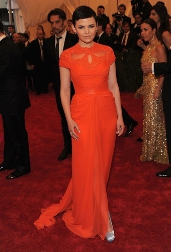 Ginnifer Goodwin no baile de gala do MET 2012 (07/05/20120