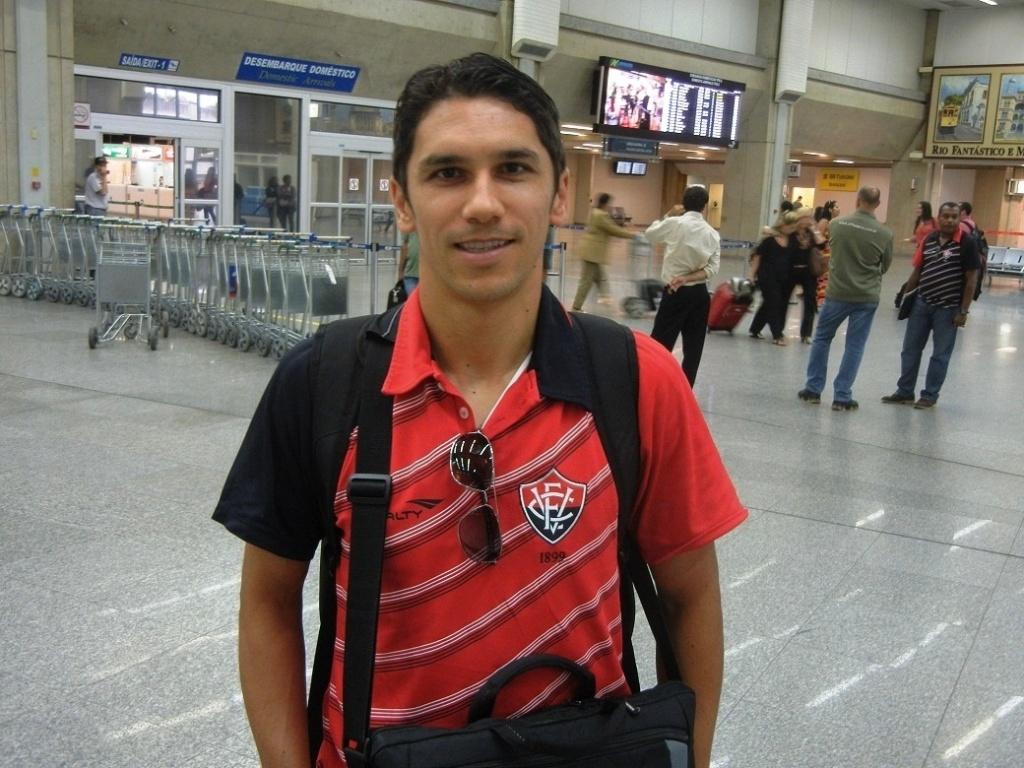Lúcio Flávio, ex-Botafogo, riu do apelido recebido no México de Pelé branco