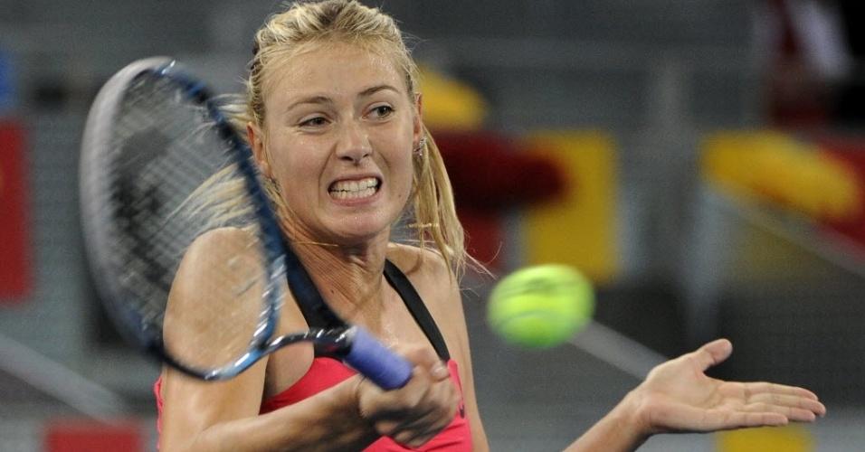 Maria Sharapova tenta a devolução na vitória contra a tcheca Klara Zakopalova