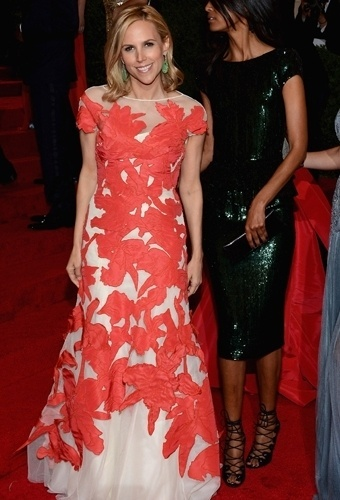 Tory Burch no baile de gala do MET 2012 (07/05/20120