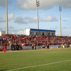 Est&#225;dio Nazaren&#227;o, localizado em Goianinha (RN)