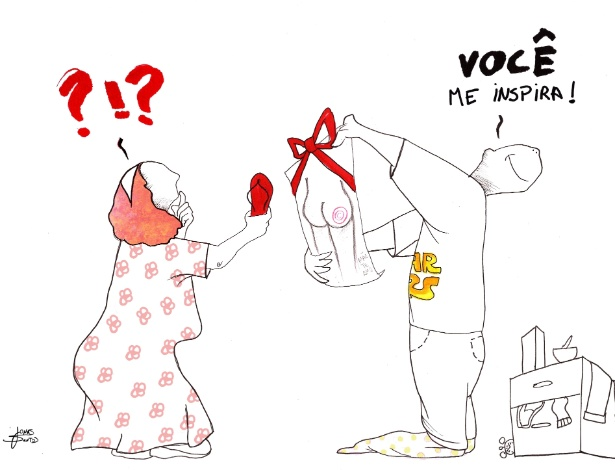 Cartum em homenagem ao Dia das Mães