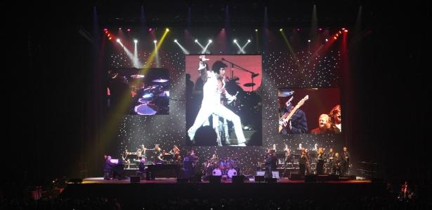 """Imagem do show """"Elvis Presley in Concert"""" que chega em outubro ao Brasil. (10/5/2012)"""