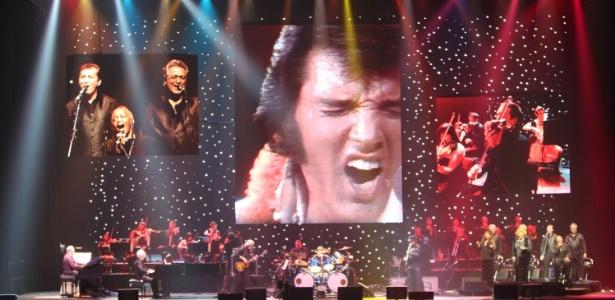 """Imagem do show """"Elvis Presley in Concert"""" que chega em outubro ao Brasil"""