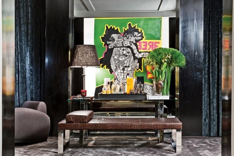 Living Family Room projetado pelo arquiteto Fabio Morozini - Mostra Artefacto 2012
