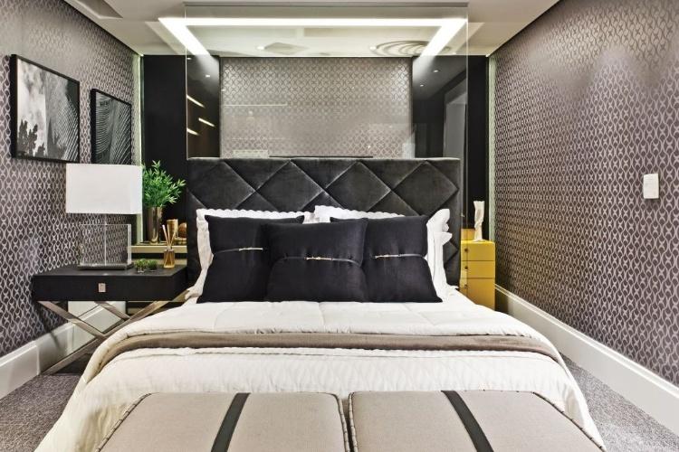 Quarto de jovem empresário criado pela designer de interiores Adriana Di Garcia - Mostra Artefacto 2012