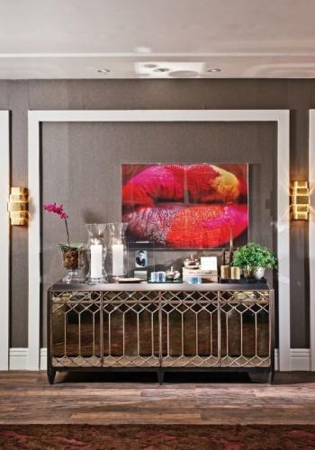 Sala de estar do designer de interiores Fernando Piva - Mostra Artefacto 2012