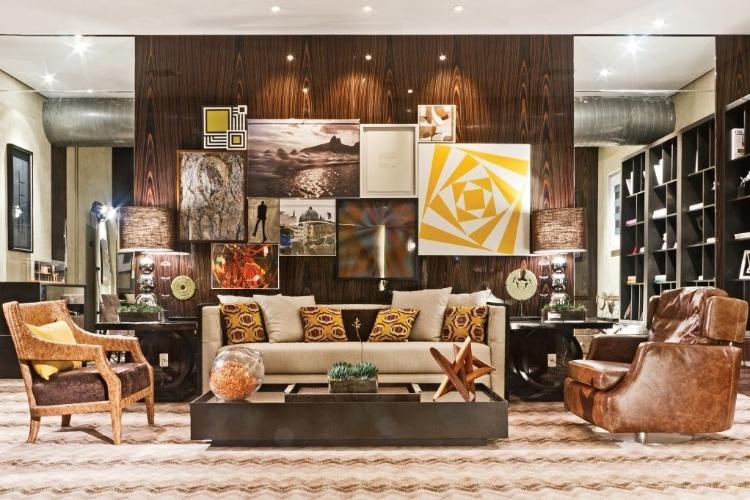 Sala multiuso projetada pelo arquiteto Leonardo Junqueira - Mostra Artefacto 2012