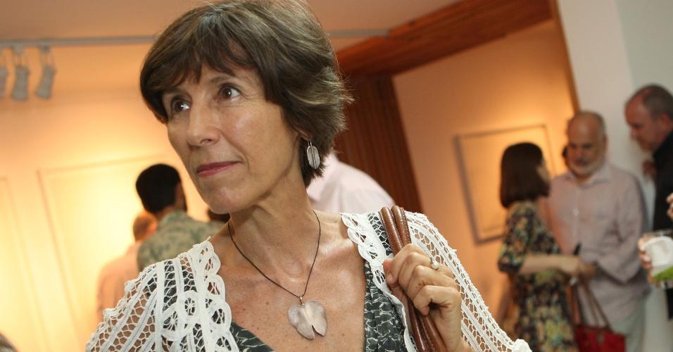 11.mai.2012- A psicanalista e ensaíasta Maria Rita Kehl é integrante da Comissão da Verdade