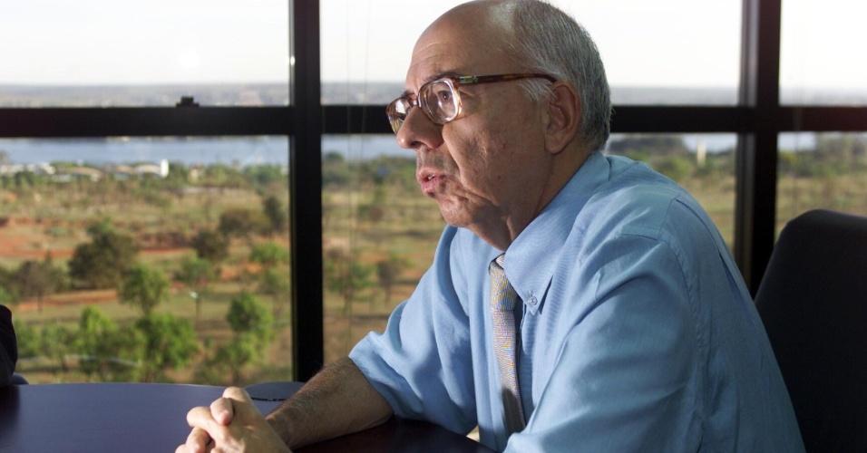 11.mai.2012- Cláudio Fonteles é integrante da Comissão da Verdade