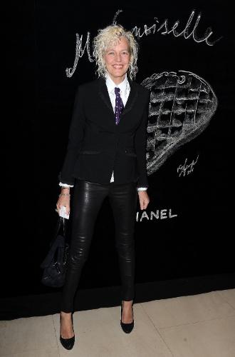 A fotógrafa alemão Ellen Von Unwerth jantar da Chanel (05/03/2011)