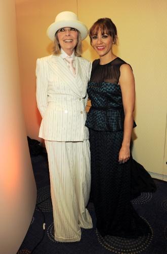 Diane Keaton preserva o estilo até hoje (28/04/2012)