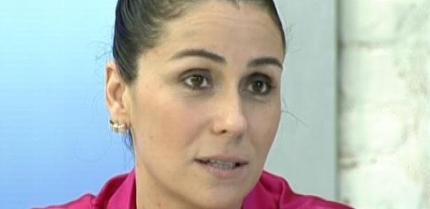 Em conversa com Ana Maria Braga, Giovanna Antonelli fala sobre as dificuldades de criar três filhos pequenos (11/5/12)
