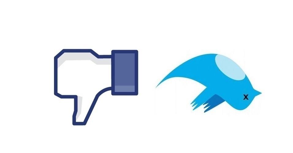 Facebook e Twitter #fail
