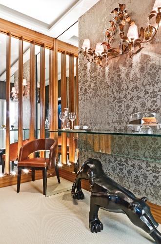 Hall do elevador criado pela arquiteta Mayra Lopes - Mostra Artefacto 2012