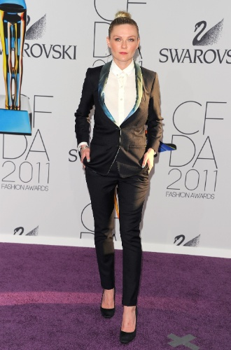 Kirsten Dunst CFDA Fashion Awards (06/06/2011)