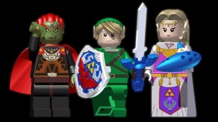 """Bonecos LEGO da série """"Legend of Zelda"""": o sonho dos fãs pode virar realidade"""