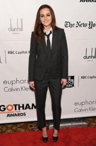 Leighton Meester no Gotham Independent Film Awards (29/11/2010)