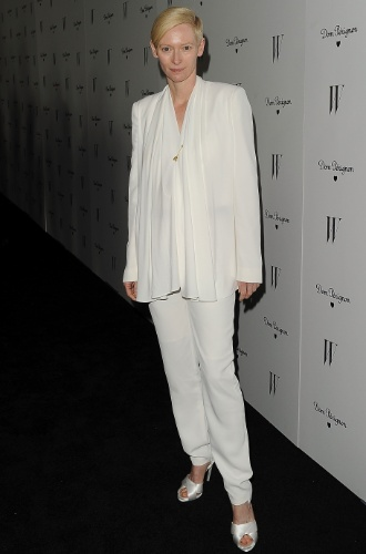 "Tilda Swinton evento da revista ""W"" (13/01/2012)"