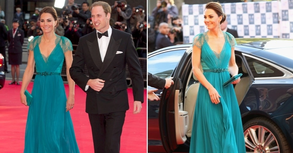O príncipe William e sua mulher, Kate Middleton, vão a evento pré-olímpico em Londres, Inglaterra  (11/2/12)