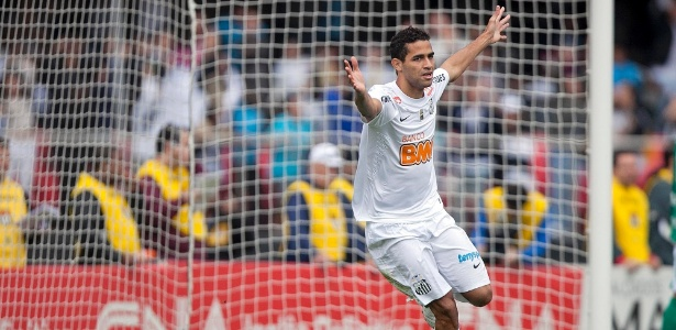 Alan Kardec teve destaque no Santos