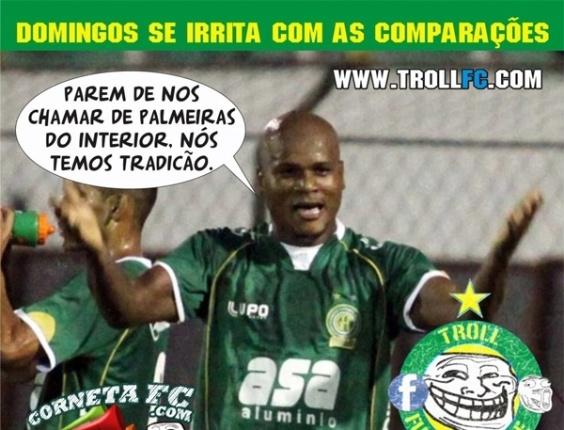 Corneta FC: Domingos se irrita com comparações e corneta Palmeiras