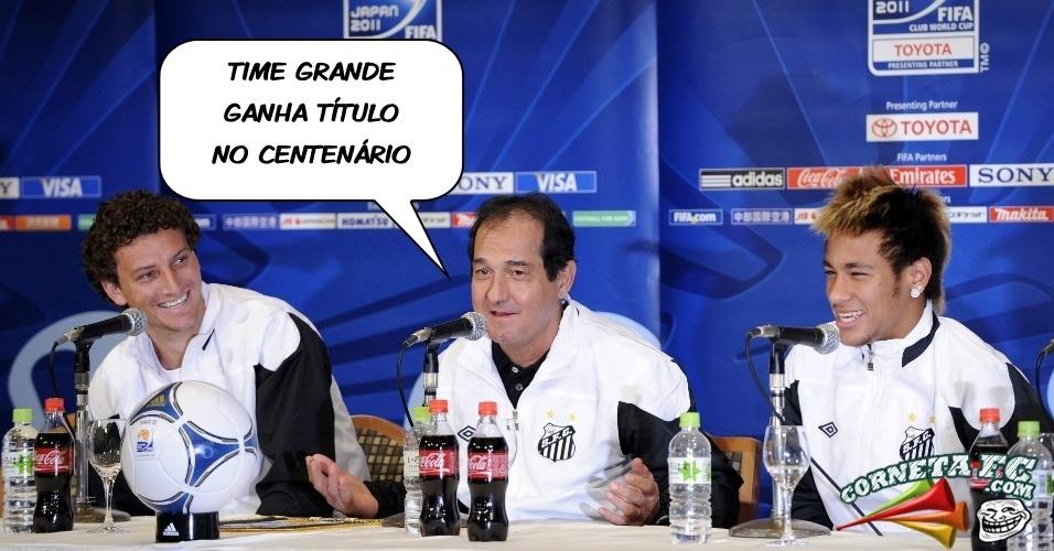 Corneta FC: Santistas ironizam rivais e cornetam