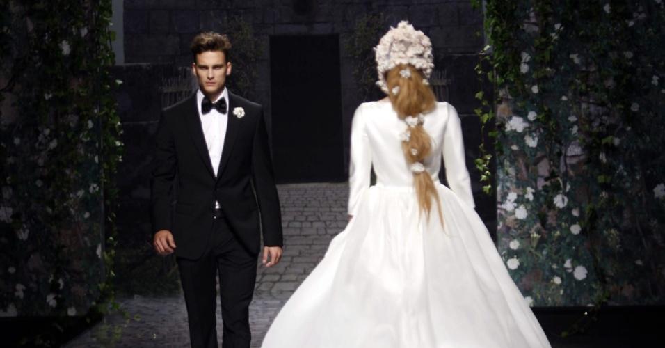 Desfile Victorio & Lucchino na Barcelona Bridal Week (09.05.2012)