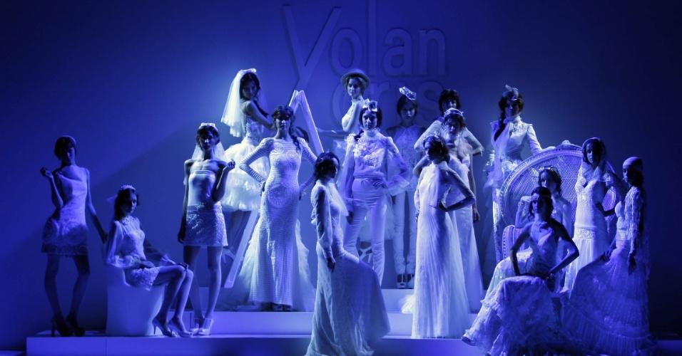 Desfile Yolan Cris na Barcelona Bridal Week (09.05.212)