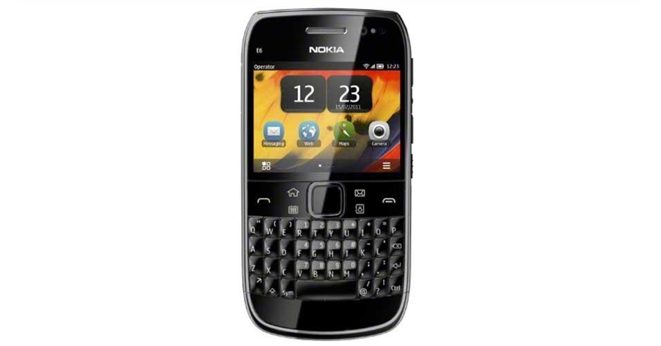 Nokia E6 tem preço baixo, mas câmera e GPS decepcionam