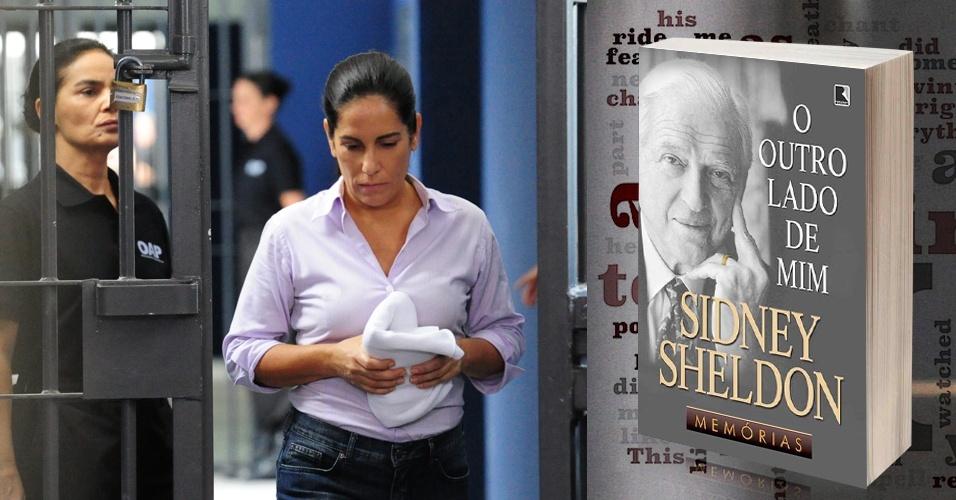 """Outro livro que Norma leu durante seus anos na prisão foi """"O Outro Lado de Mim"""", do escritor americano Sidney Sheldon"""