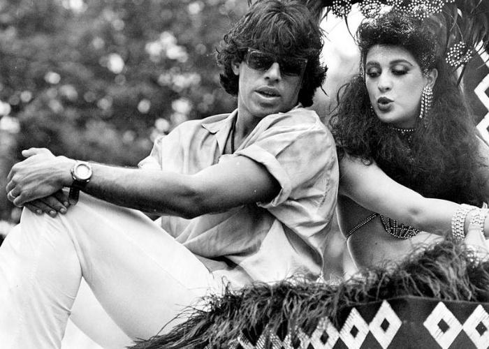 """Alexandre Frota e Claudia Raia e conheceram durante as gravações da novela """"Roque Santeiro"""" e se casaram em 1986. O casal discutia frequentemente e acabaram terminando em 1989"""